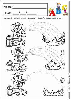 Fire Safety Worksheets Preschool Fire Safety Week Worksheet for Kids 1 Motor Activities, Educational Activities, Toddler Activities, Preschool Worksheets, Preschool Activities, Free Worksheets, Family Activities, Fire Safety Week, Fire Prevention Week