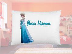 New Personalized Disney Frozen Queen Elsa by PersonalizedPillowz