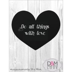 Decor & Homeware - Home & Living Home And Living, Heart Shapes, Chalkboard, Creative, South Africa, Wall, Handmade, Gifts, Stuff To Buy