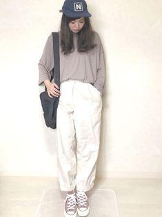 MONO-MARTのトップスは メンズですが オーバーサイズな感じで着られます◎ 3/4の袖でちょう