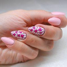 "Polubienia: 551, komentarze: 20 – @puro.nails (@puro.nails) na Instagramie: ""Nails for today  Rose quartz+DC52 @blueskypolska  #nailart #nailsoftheday #nails2inspire…"""
