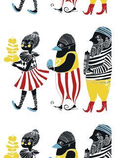 Maija Louekari´s exuberant Kulkue print speaks to friendship and the joys of…