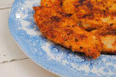 Op een snelle manier krokante kip maken