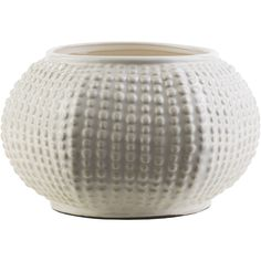 Raised hobnail texture surrounds our Hobnail Hill Jar, giving it a fun, contemporary texture. Fill with blooms to create an inspired space.