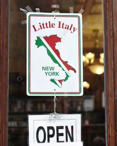 Little Italy, New York Little Italy in New York is like Chinatown in San Francisco; Huge, amazing, and another place to visit :) NYC Tiffany Nyc, Little Italy New York, Gangsters, Sweet Sixteen, Blue And Silver, Travel Ideas, Wander, San Francisco, Places To Visit
