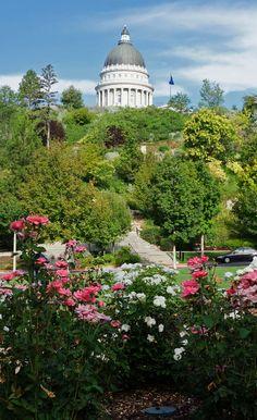Memory Grove Park, Utah State Capitol. Salt Lake City, Utah ...