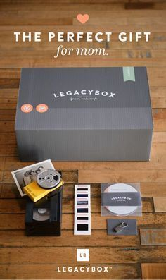 """""""This is truly spectacular. Legacybox is an amazing service...This is something that will be cherished and passed down. Give the Legacybox with a Kleenex box for best results."""" - The Huffington Post"""