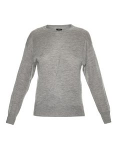Evans cashmere and silk-blend knit sweater  | Isabel Marant | MATCHESFASHION.COM US
