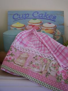 Shabby Chic, Lace and Cupcakes- A too sweet combination., via Flickr.