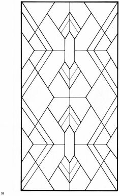 Art Deco Stained Glass Pattern Book Issuu is a digital publishing platform that makes it simple to p Stained Glass Designs, Stained Glass Projects, Stained Glass Patterns, Stained Glass Art, Midcentury Stained Glass Panels, Mosaic Patterns, Motif Art Deco, Art Deco Pattern, Art Deco Design