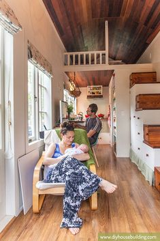 ravishing tiny trailer house. Life In Our Tiny Trailer House  diyhousebuilding A Growing Family Makes it Work in a houses Square