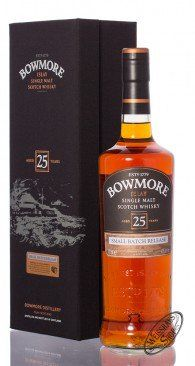 Bowmore 25 YO Small Batch Islay Single Malt Whisky 43% vol. 0,70l