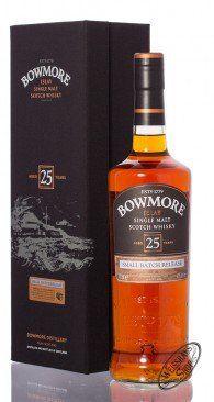 Bowmore 25 YO Small Batch Islay Single Malt Whisky 43% vol. 0,70l