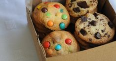 The Sweet Bakery | Cookies con chocolate y M&Ms