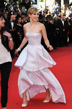 Suki Waterhouse in Dior at the 2014 Cannes Film Festival