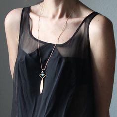 NEW   Brass emerald aventurine and czech glass by sewasong on Etsy, €24.00
