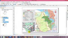 Map layout with ArcGIS 10.2