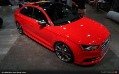 There's no doubt that the is the latest in Audi's long line of super hot cars. Interestingly though, only one Audi (or sedan) made it to SEMA, and this one was displayed proudly at German suspension specialists H&R. Bugatti, Lamborghini, Red Audi, Audi A3 Sedan, Volkswagen, Porsche, Audi Rs3, Driving School, Audi Sport