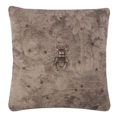 Clymene III Scatter Cushions, Beetle, June Bug, Beetles, Bugs, Beetle Insect, Throw Pillows, Decor Pillows