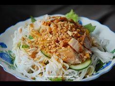 Full recipe at (Xem cach lam bang tieng Anh va Viet tai )  http://www.danangcuisine.com/2011/12/recipe-17-bun-mam.html  Ingredients  anchovy fish sauce  roasted/boiled pork  pineapple  minced garlic, lemongrass, chili  rice vermicelli  fresh greens