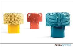 From alessandro zambelli design studio (Italy): .exnovo presents Maggiolina, the kafka-esque table lamp