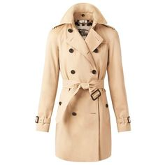 You don't need to buy Burberry unless you have the $$'s so find this similar at Macy's and style it with a black pant and boot, white crisp blouse ...oh my hello lovely