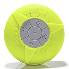 #1 QUZE UPGRADED! Wireless Waterproof Bluetooth Shower Speaker. Superior Sounds And Long Lasting Battery, Hands-free Speakerphone With Built-in Mic, Compatible With All Bluetooth Devices. MICRO USB. Use For Shower, In Car, Pool, Camping, Boating, With Suc