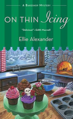 #CoverReveal On Thin Icing (A Bakeshop Mystery #3) by Ellie Alexander