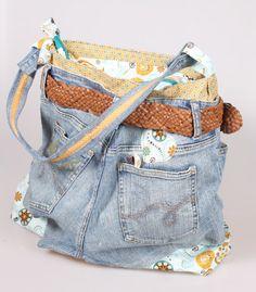 Lecker & Nähen: Jeans trifft Tasche