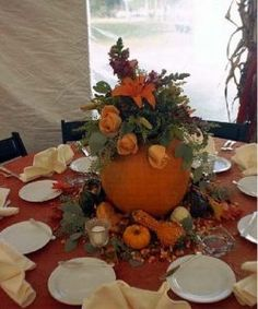 Beautiful ideas for a fall wedding (more pics on the page).