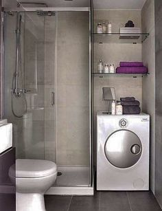 Baño y lavadora