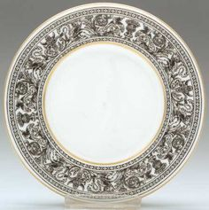 Wedgwood Florentine (Black Outlined Dragons) Bread & Butter Plate