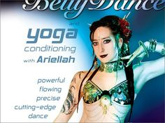 Contemporary Bellydance & Yoga with Ariellah Tribal Fusion Belly Dance | World Dance New York