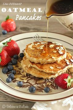 Cozy Oatmeal Pancakes