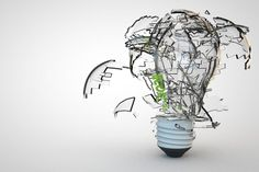 Thinking innovatively sometimes depends on what you don't do.
