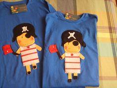 Piratas// Camisetas