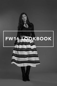 MARIA TAILOR ♦ | Lookbook | FW16 | Fashion Design | Dutch Design | Fashion | Style | Lookbook | Collection | Model | Ootd | Fall | Winter | 2016 | Black | White | Dress | Skirt | Inspiration | Pants | Clothes
