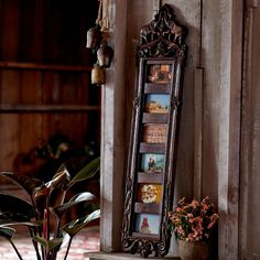 Saharanpur 6-Photo Frame ~ Hand-Crafted by artisans in India via www.worldmarket.com #CRAFTBYWORLDMARKET