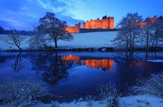 Castello diAlnwick - Gran Bretagna