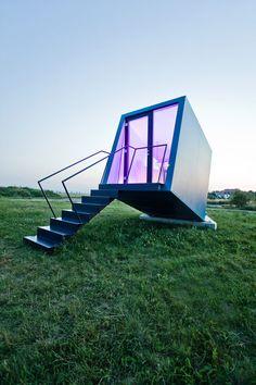 Quarto de hotel móvel Hypercubus pode reinventar a indústria Alojamento