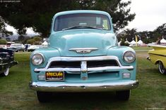 Photographs of the 1954 Chevrolet Series Pickup. An image gallery of the 1954 Chevrolet Series 54 Chevy Truck, Chevy 3100, Chevrolet Trucks, Cool Trucks, Chevy Trucks, Truck Art, General Motors, 4x4, Vehicles