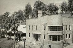 Tweed District Hospital - new buildings, section of Nurses Quarters showing Matron's verandah  Dated: 1940
