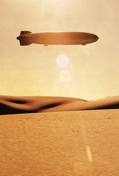 Hindenburg over Sahara