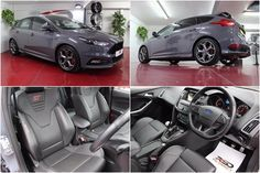 FORD FOCUS 2.0 ST3 Just 7599 Miles Nice Spec  Unmarked Stealth Grey Sync 2 System Satellite Navigation 8in Touchscreen Full Recaro Leather Interior Heated Electric Front Seats Electric Sunroof Cruise Control With Active Speed Limiter Dual Zone Electronic Automatic Temperature Control (EATC) Rear Park Distance Voice Control And Emergency Assistance 18in Rock ST Alloy Wheels Bluetooth And USB Electrically - Operated Front Windows With Drivers One Shot Up/Down and Passengers One Shot Down Ford…