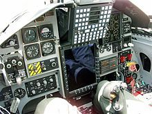 Northrop T-38 Talon cockpit