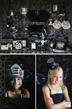 "Twilight Fairy Dress Up Closet & Photo Shoot as seen in ""Twilight Fairy's Hollow"" party designed by Soiree Event Design"