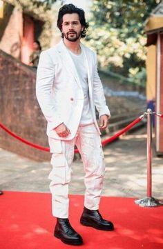 White Prom Suit, Alia Bhatt Varun Dhawan, King, Suits, Suit, Costumes