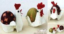 Великденски поставки за яйца