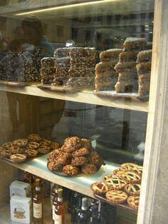Italian pastry window, Florence