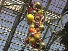 """Dale Chihuly """"A New Eden""""  Meijer Gardens Conservatory- Around the garden with music"""